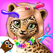 icono Jungle Animal Hair Salon - Juego de peinado