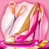 icono Juego Diseñar Zapatos de Tacon