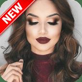 icono Tutorial de maquillaje paso a paso 2018