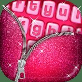 icono Teclado Lindo de Color Rosa