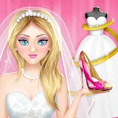 icono Juegos de diseñar vestidos de novia y zapatos