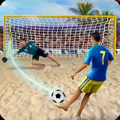 icono Dispara y Gol - Juego de Fútbol Playa