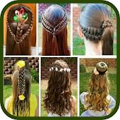 icono Peinados para niñas fáciles modernos y divertidos