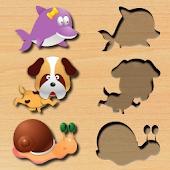 icono Puzzle de animales
