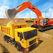 icono Pesado Excavador Construcción Simulador Grua Juego