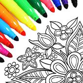 icono Páginas para colorear Mandala