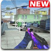 icono Combat Strike:Disparos juegos online de guerra FPS