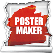 icono Creador de pósters, Diseñador de folletos anuncios