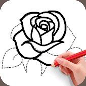icono How To Draw Flowers