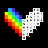 icono Páginas para colorear por números - No.Draw