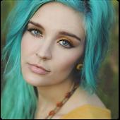 icono Cambio de pelo y color de ojos