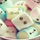 icono Comedia mixta de dibujos animados tema:caramelo