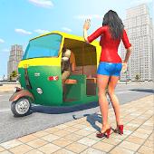 icono Rickshaw Driving Simulator -Conducir nuevos juegos
