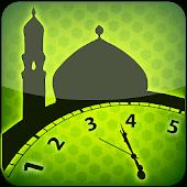 icono Tiempos de oración:hora de salah y dirección qibla