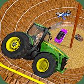 icono Trucos del pozo de la muerte: tractor, coche