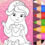 icono Coloreando Princesas para Niños