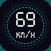 icono Velocímetro GPS, Medidor de distancia