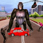 icono enojado gorila ciudad batalla 2019