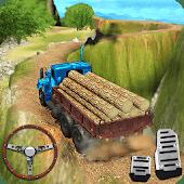icono Transporte todo terreno de conducción de camiones