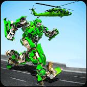 icono Helicóptero Robot Transformación Juego 2018