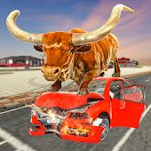 icono simulador de toros: alboroto toro enojado 2019