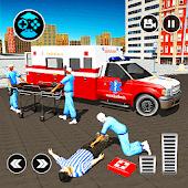 icono 911 Ambulance City Rescue: Juego de conducción de