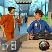 icono Cárcel Prisionero Transporte Policía Autobús