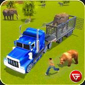 icono 3D Zoo Animal de camiones