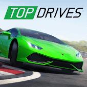 icono Top Drives: carreras con tarjetas de autos