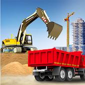 icono ciudad construcción sim: máquina elevadora camión