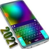 icono Tema de color del teclado 2021