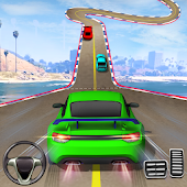 icono simulador de conducción de coches locos