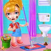 icono Mantener su juego de limpieza limpiar casa