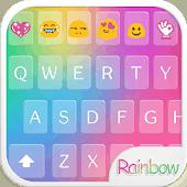 icono Teclado Emoji Amor Arco iris