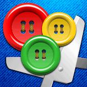 icono Botones y Tijeras