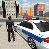 icono Police Car Driver