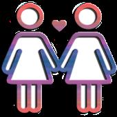 icono Chat Lesbianas - Mujeres Solteras