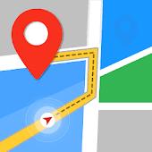 icono GPS, mapas, navegación por voz y destinos