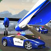 icono Police Plane Transporter Juego
