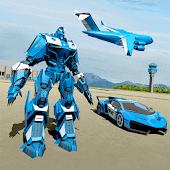 icono Police Robot Car Game - Transporte del avión