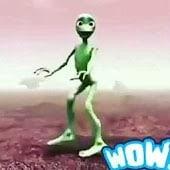 icono La danza alienígena verde