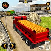 icono Gold Transporter Truck Driver