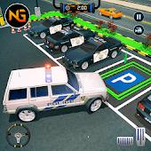 icono Police Car Parking 2018: escuela de manejo de nive