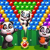 icono panda burbujas cazador