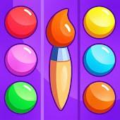 icono Juegos educativos de colorear para niños 4 5 años.
