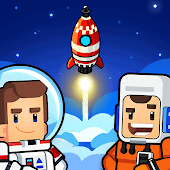 icono Rocket Star Tycoon Game - Magnate Espacial