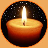 icono Noche de la vela 🕯️ relajación, sueño, meditación