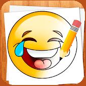 icono Cómo Dibujar Emoticonos Emoji