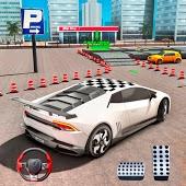 icono juegos de aparcar coches - juegos de carros