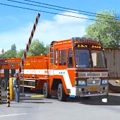 icono euro camión loca juego simulación